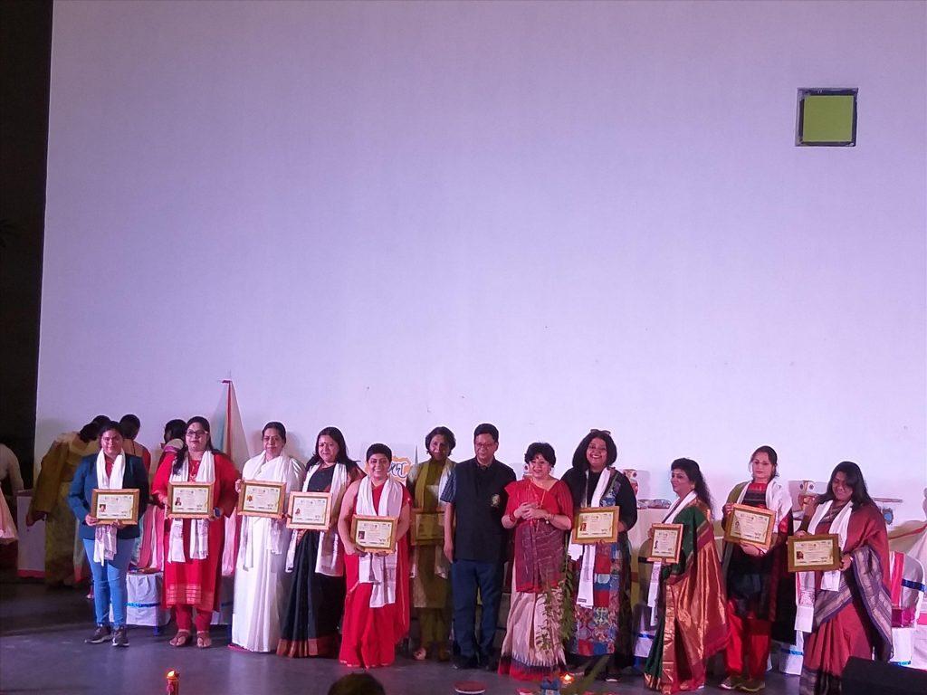 Kolkatta Museum,Brahma Kumaris felicitated with Mother Teresa Award.